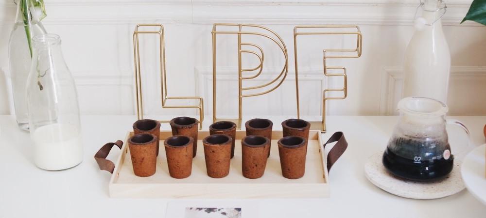 Les Petites Françaises, la première marque de tasses comestiblesfaites à la main en France.