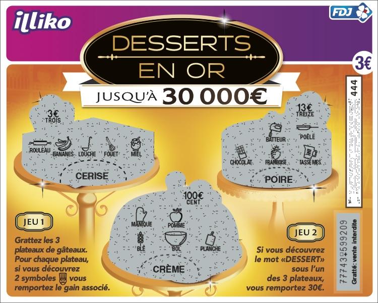 FR60401 Desserts en or_GRATTE