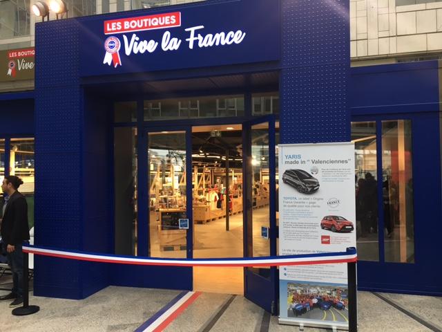 Paris : le made in France s'installe au centre Italie Deux