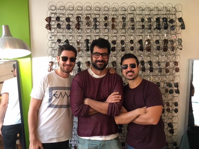 De gauche à droite   Benjamin Chouraqui, Dan Alcabes et Kevin Castillo 5cc31a23e460