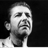 Leonard Cohen - 1985 @SIPA