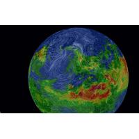 Carte interactive AirVisual