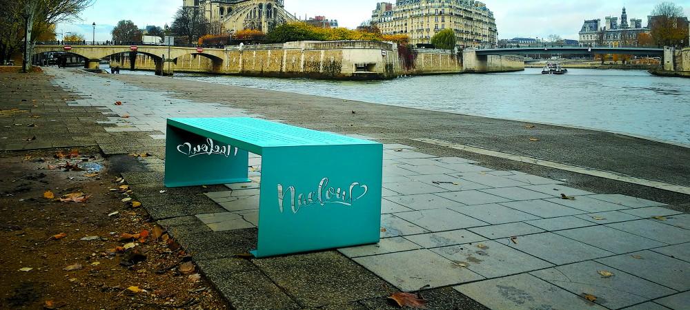Faites graver vos mots d 39 amour sur un banc naelou reponse conso - Faire l amour sur un banc ...