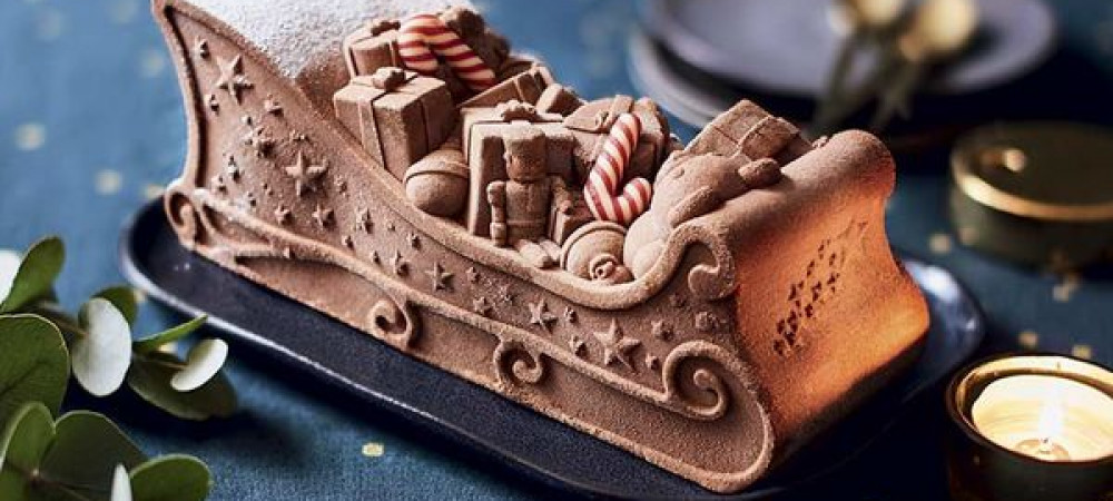 Gateau chocolat noel picard