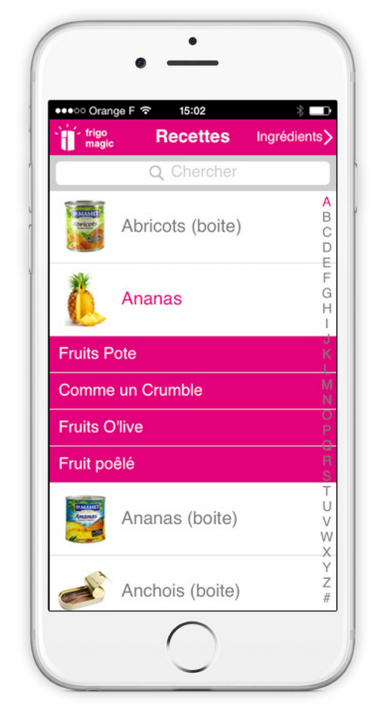 Frigo magic l application qui vous propose des recettes avec les restes du frigo reponse conso - Cuisiner avec les restes du frigo ...