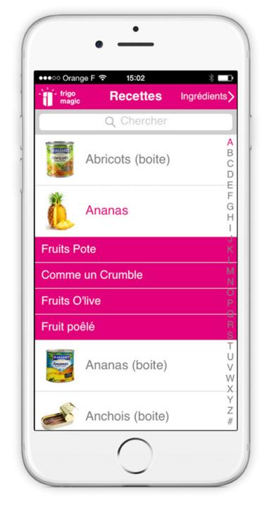 Frigo magic l application qui vous propose des recettes - Cuisiner les restes du frigo ...