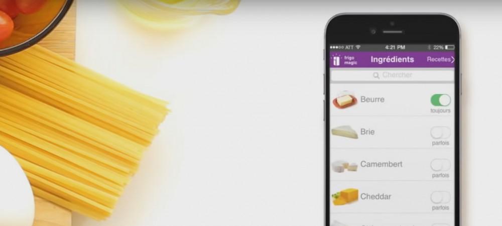 frigo magic : l'application qui vous propose des recettes avec les