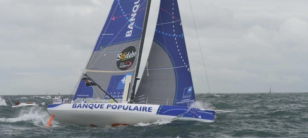 Armel Le Cleac'h est le vainqueur du Vendée Globe 2017 !