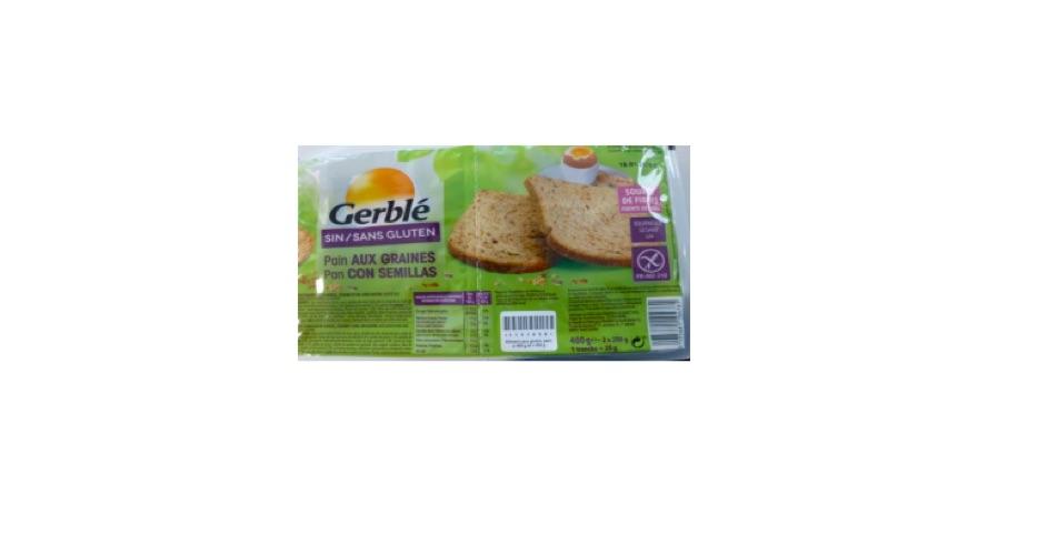 Gerblé : des pains aux graines sans gluten rappelés - Reponse Conso