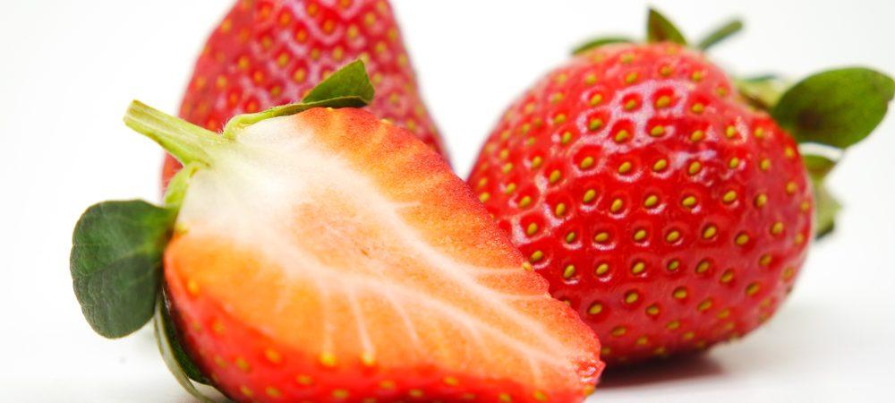 mini fourré à la fraise