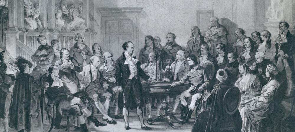 Alessandro Volta et Napoléon
