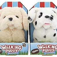 peluche walking puppy